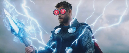lightning thor in avengers endgame